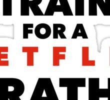 (Netflix) marathon Sticker