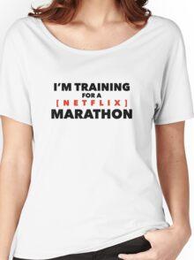 (Netflix) marathon Women's Relaxed Fit T-Shirt