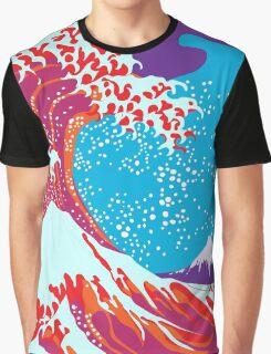 The Great Wave off Kanagawa Katsushika Hokusai Graphic T-Shirt