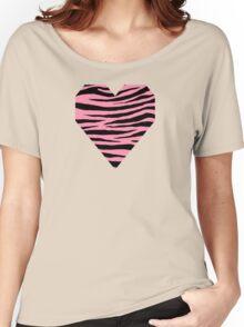 0154 Baker-Miller Pink or Schauss Pink Tiger Women's Relaxed Fit T-Shirt