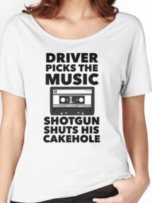 Driver picks the music Women's Relaxed Fit T-Shirt