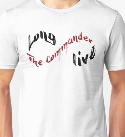 Long Live The Commander Unisex T-Shirt