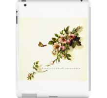 Wild rose blossoms iPad Case/Skin