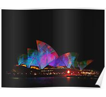 Sydney Opera House Vivid Sydney Festival Poster