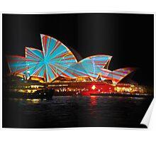 Vivid Light Festival Sydney Opera House 2015 Poster