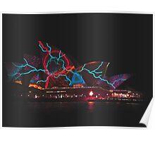 Sydney Opera House 2015 Vivid Festival Poster
