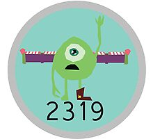 2319 Monsters Inc Photographic Print