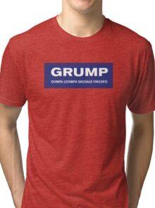 GRUMP Campaign - Blue Tri-blend T-Shirt