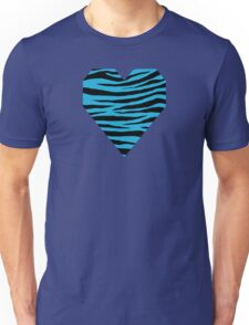 0131 Battery Charged Blue Tiger Unisex T-Shirt