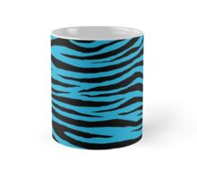 0131 Battery Charged Blue Tiger Mug