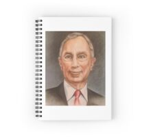 Mike Bloomberg Spiral Notebook