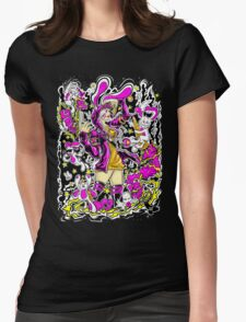 bunny girl Womens Fitted T-Shirt