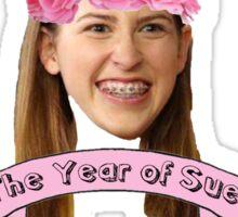 Sue Heck Sticker
