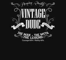 Vintage Dude Tshirt The Man The Myth The Legend Unisex T-Shirt