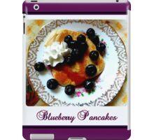 Blueberry Pancakes iPad Case/Skin