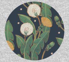 dandelion seamless pattern Kids Tee