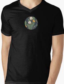 dandelion seamless pattern Mens V-Neck T-Shirt