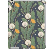 dandelion seamless pattern iPad Case/Skin