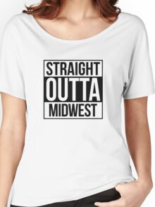 Straight Outta Midwest Women's Relaxed Fit T-Shirt