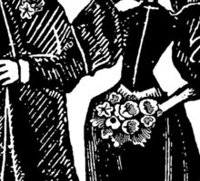 Skeleton Wedding Sticker