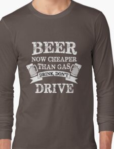 Beer quotes Long Sleeve T-Shirt