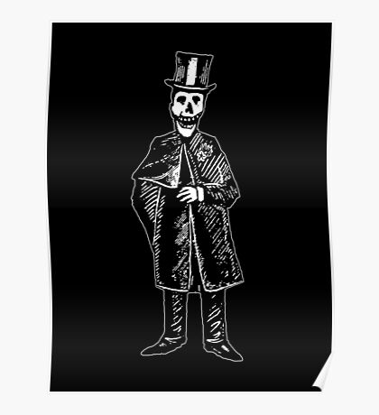 Skeleton Groom Poster