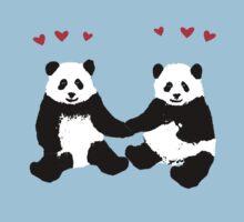 Panda Love Baby Tee