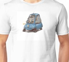 Driving Elephant Unisex T-Shirt