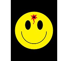 bullet smiley Photographic Print