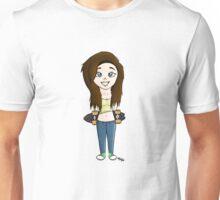 Sk8er gurl Unisex T-Shirt