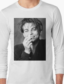 Leonardo DiCaprio Long Sleeve T-Shirt