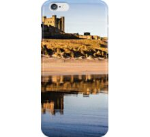 Bamburgh Castle Reflections iPhone Case/Skin