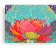 space lotos Canvas Print