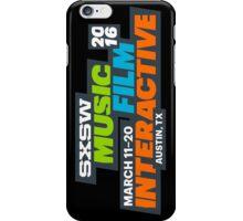 SXSW - 2016 iPhone Case/Skin