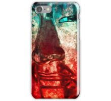 Buddha Face red iPhone Case/Skin