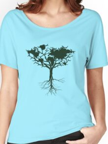 Earth tree *dark green edition Women's Relaxed Fit T-Shirt