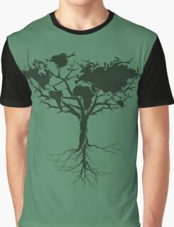 Earth tree *dark green edition Graphic T-Shirt
