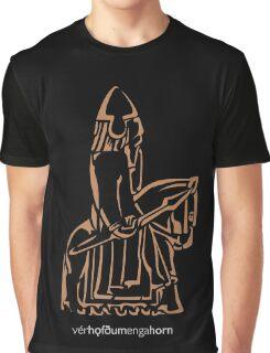 WeHadNoHorns - Lewis chessmen BIG Graphic T-Shirt