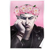 Flower crown Ronan Poster