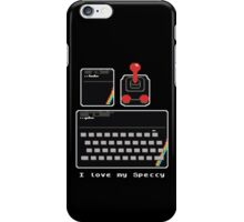 I love my Speccy! iPhone Case/Skin