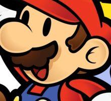 Paper Mario with FLUDD Sticker