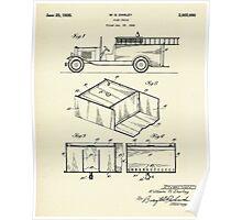 Fire Truck-1934 Poster