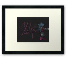Jinx... Durr Framed Print