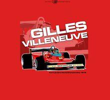Gilles Villeneuve - F1 1979 Unisex T-Shirt