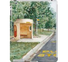 Canberra Bus Stop Richardson iPad Case/Skin