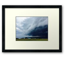 Storms Passing Framed Print