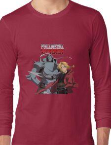 Edward Elric Alphonse Elric Fullmetal Alchemist Brotherhood Anime Long Sleeve T-Shirt