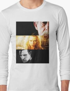 bad wolf 2 Long Sleeve T-Shirt