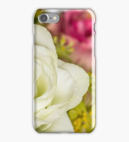 One white rose iPhone Case/Skin