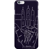 Chart of the Hand - fortune-telling iPhone Case/Skin